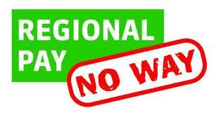 Regional Pay, No Way