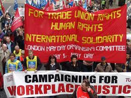 March for labour rights on May Day