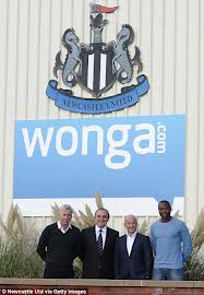 NUFC and Wonga